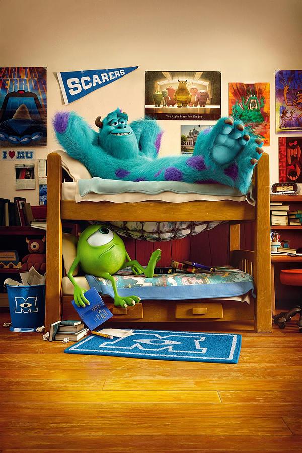 Monsters University 2013 Digital Art By Geek N Rock
