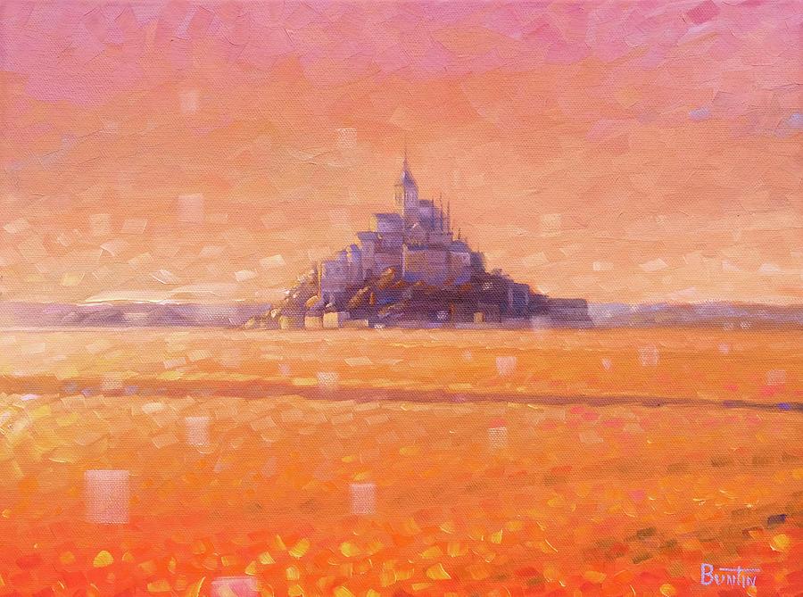 Mont Saint Michel Painting - Mont Saint Michel by Rob Buntin