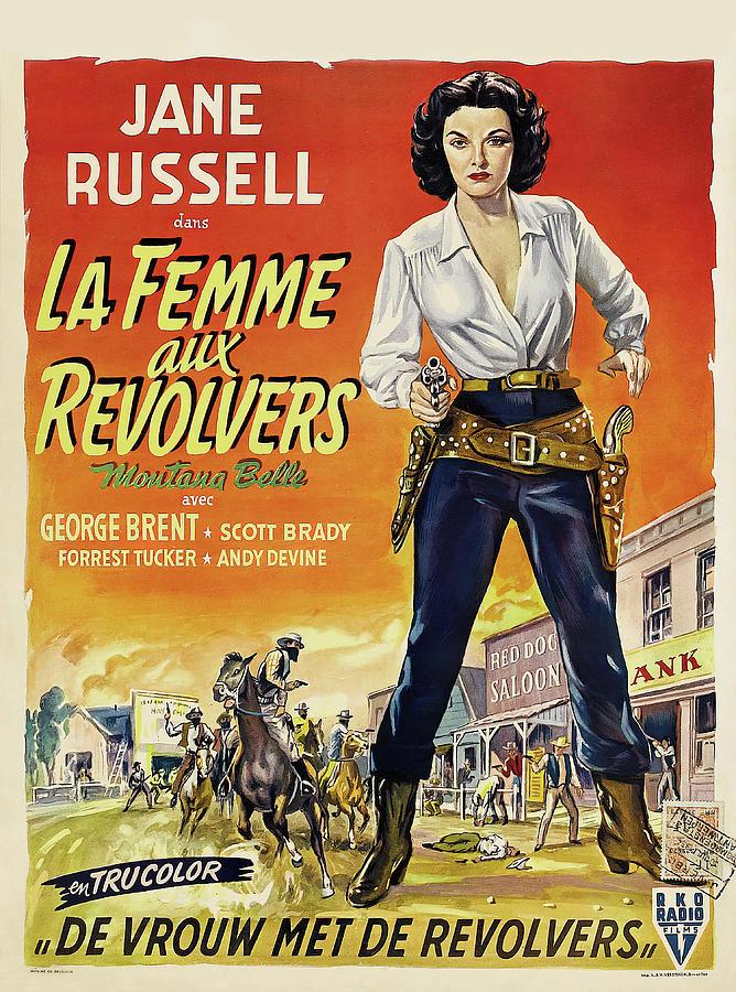montana Belle, 1952 Mixed Media