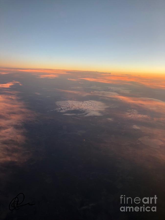 Montana Sunset by Ann E Robson