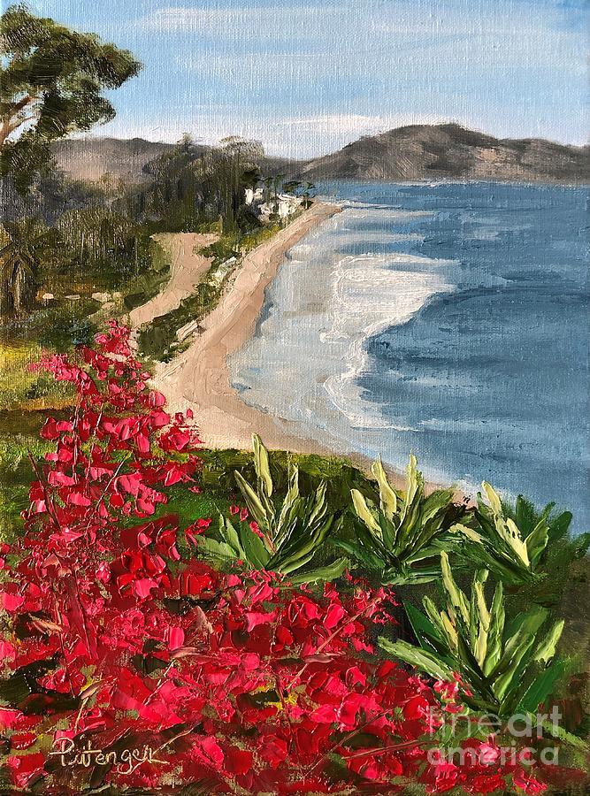 Montecito Stroll Painting