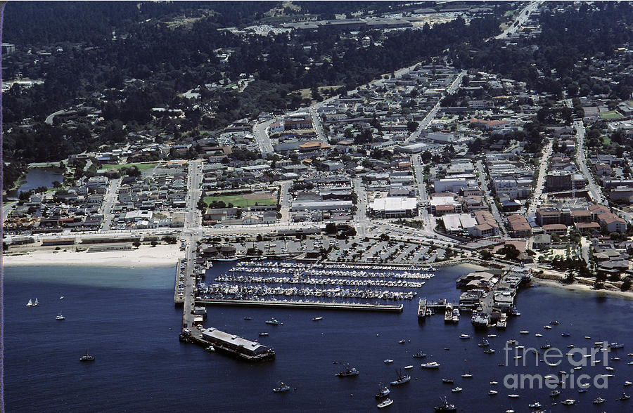 Monterey Harbor 1984 by California Views Archives Mr Pat Hathaway Archives