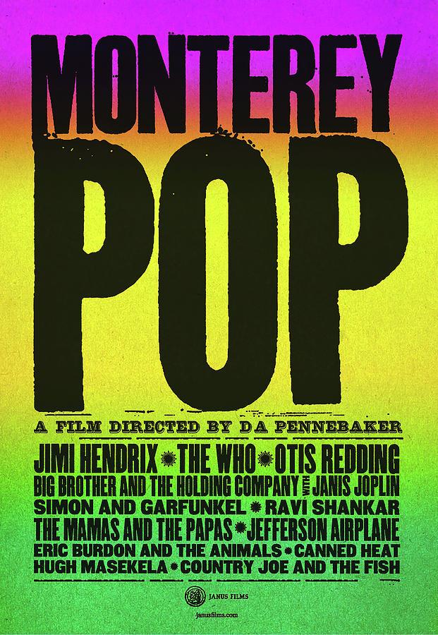 monterey Pop, By D.a. Pennebaker, 1968 Mixed Media
