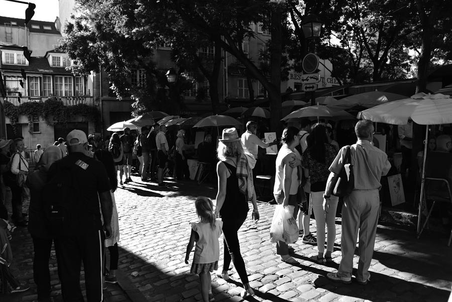 Montmartre Square Paris Photograph