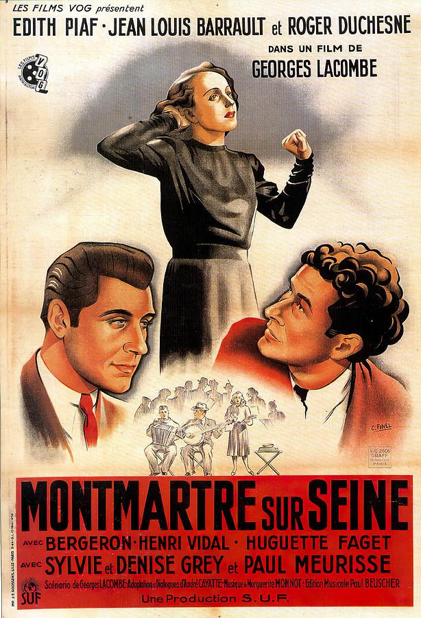 montmartre Sur Seine, 1941 Mixed Media