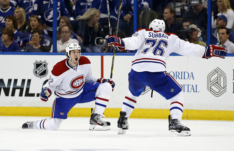 Montreal Canadiens v Tampa Bay Lightning - Game One Photograph by Mike Carlson