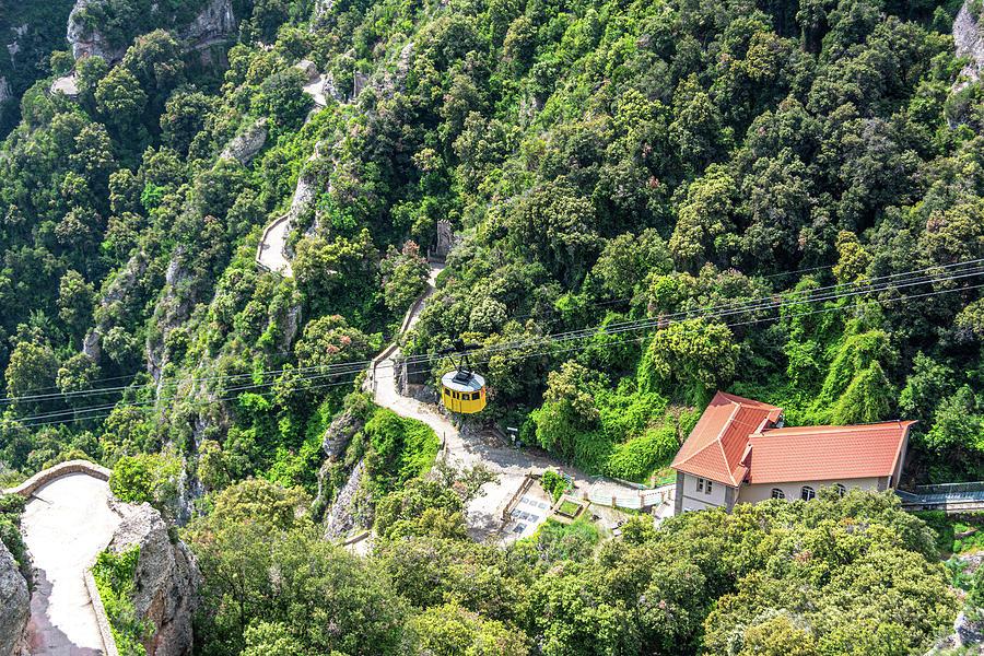 Montserrat Aerial Tram by Douglas Wielfaert