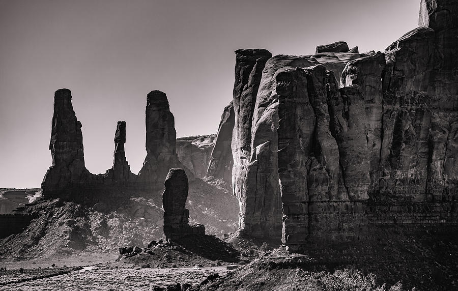 Monument Valley Sisters 2 Photograph