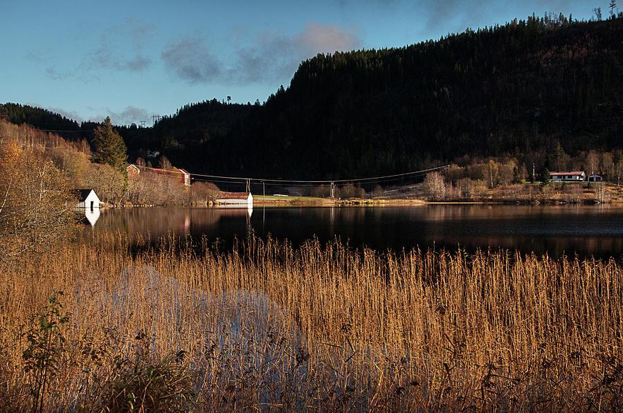 Landscape Photograph - Mood Of Autumn by Turid Bjornsen