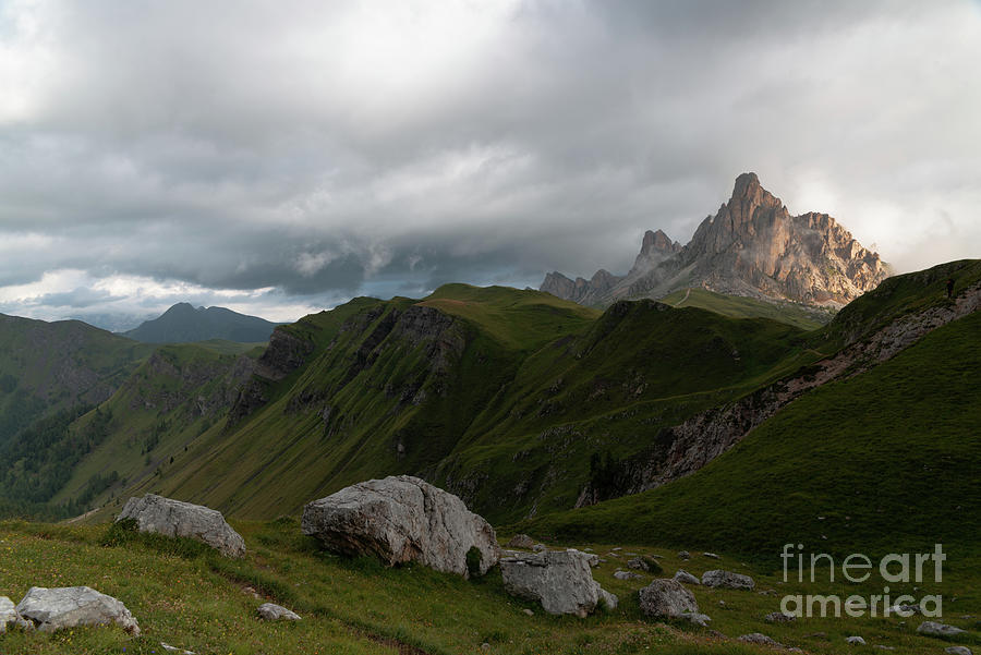 Moody Mountains Photograph