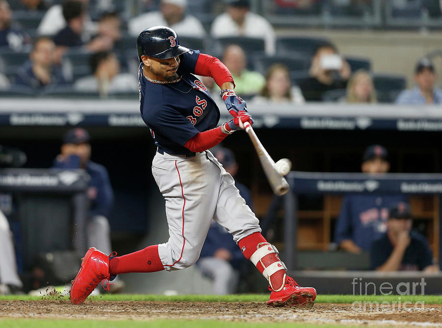 Mookie Betts Photograph by Jim Mcisaac