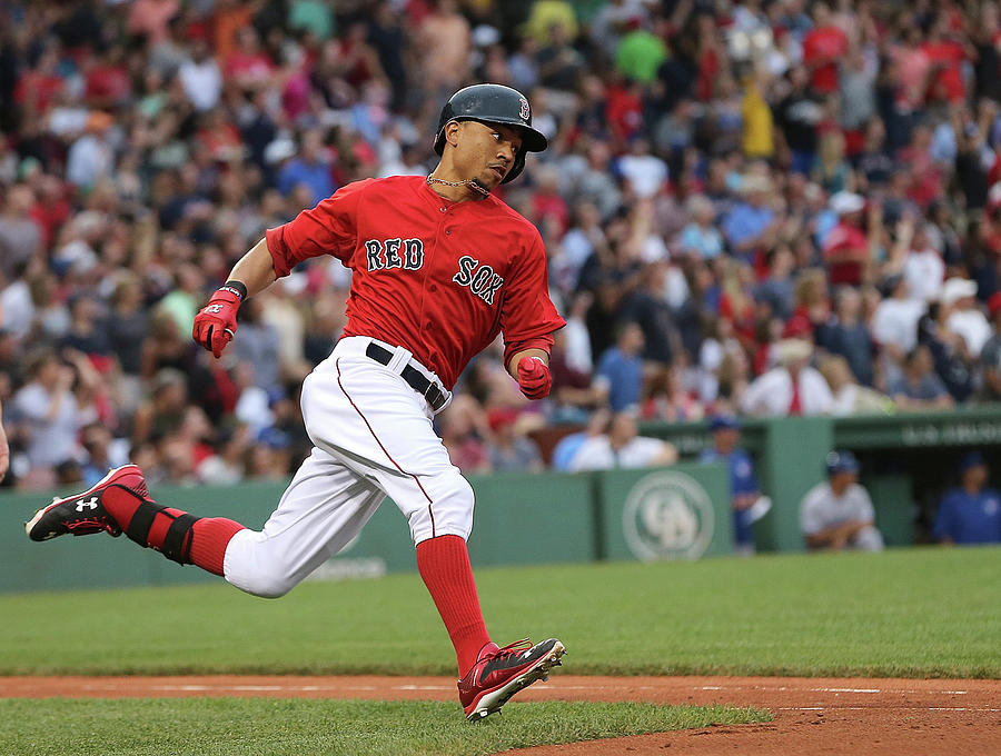 Mookie Betts Photograph by Jim Rogash