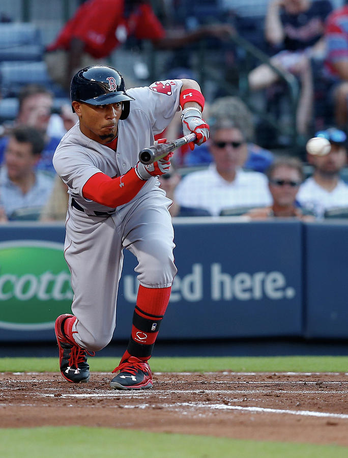 Mookie Betts Photograph by Mike Zarrilli