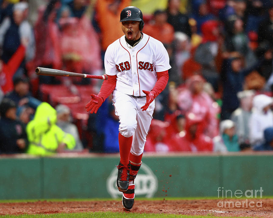 Mookie Betts Photograph by Omar Rawlings