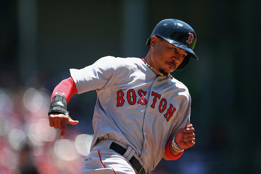 Mookie Betts Photograph by Ronald Martinez