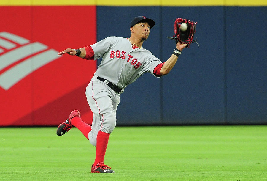 Mookie Betts Photograph by Scott Cunningham