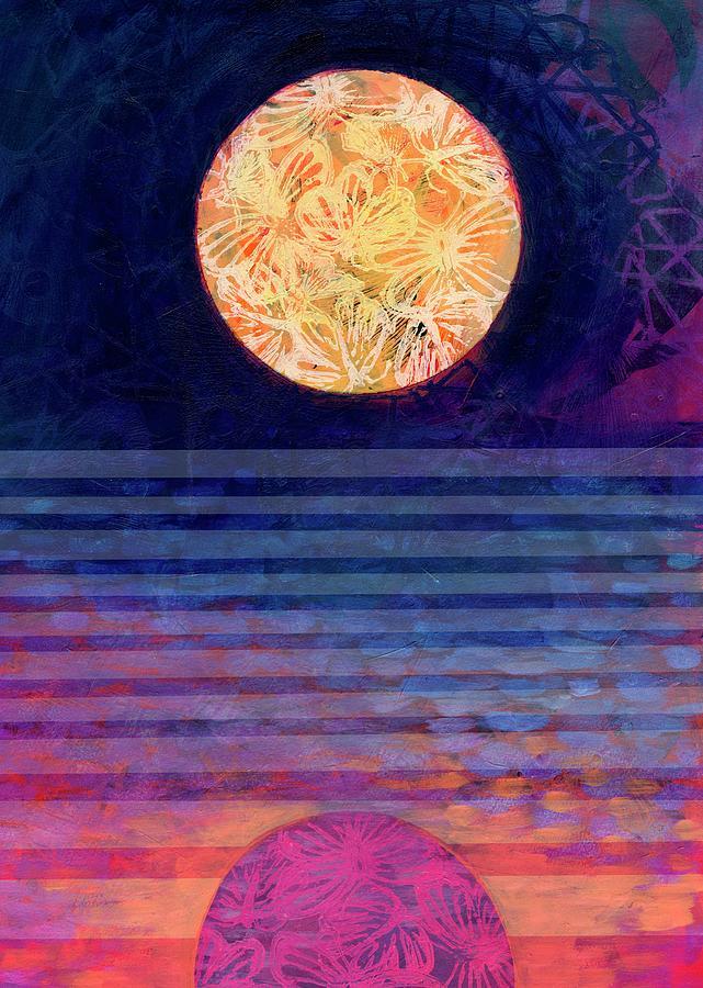 Moon Call Mixed Media