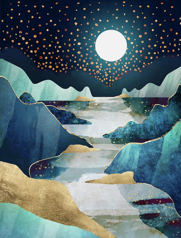 Moon Glow by Spacefrog Designs