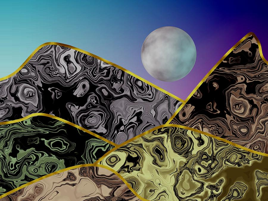 Moon Mountains  by Kathleen Sartoris