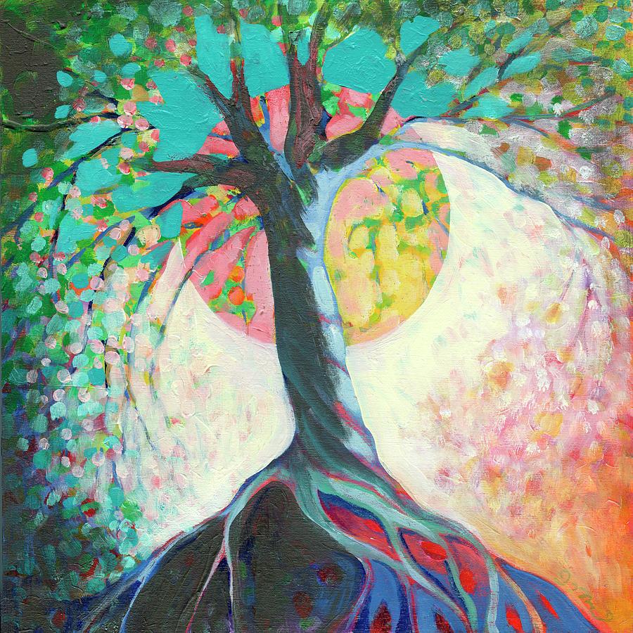 Moon Rising Painting