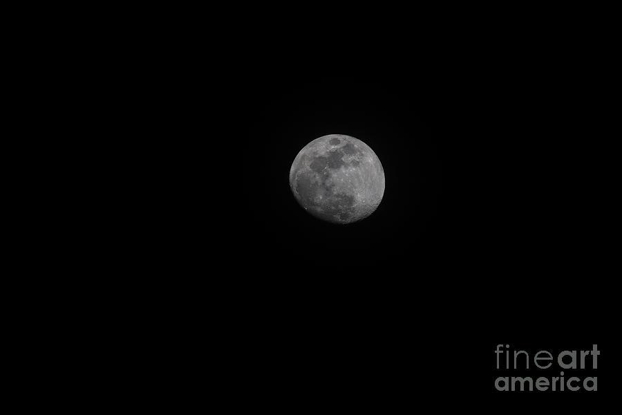 Moon Shot - Full Moon - 2018 Photograph