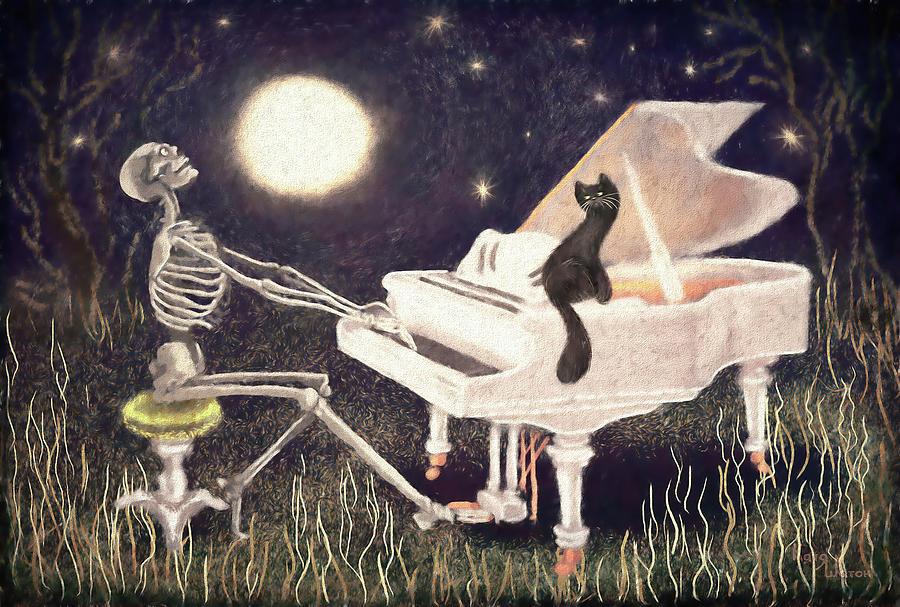 Moonlight Sonata Classic Digital Art
