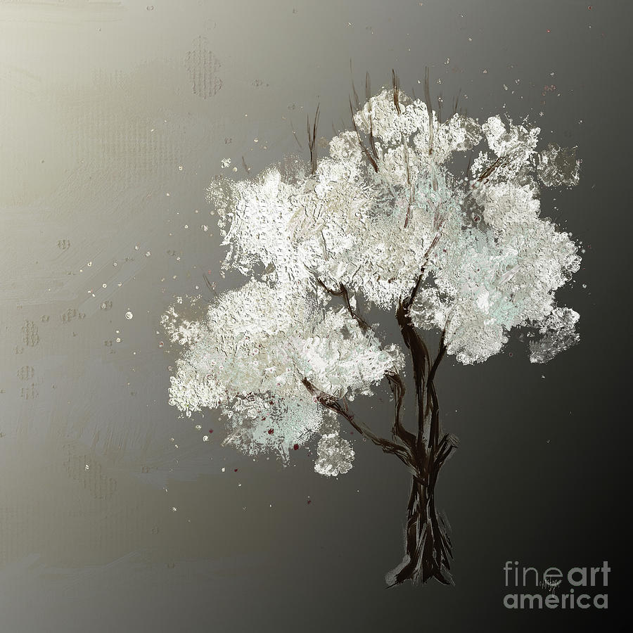 Moonlit Tree by Lois Bryan
