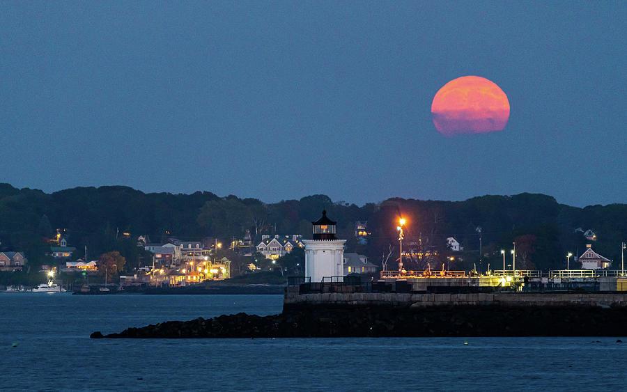 Moonrise Over Buglight Photograph