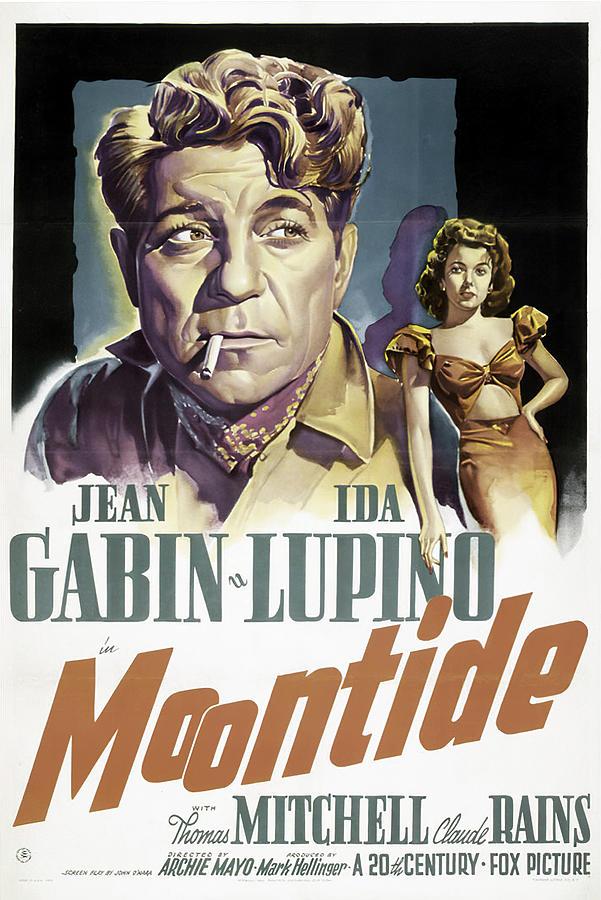 moontide, With Jean Gabin, And Ida Lupino, 1942 Mixed Media