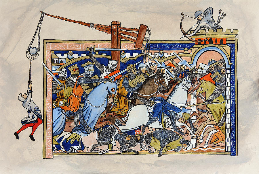 Medieval Painting - Morgan bible by Bettina Miriam Sehner