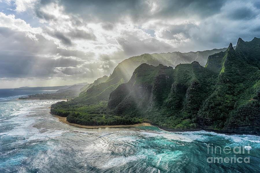 Kauai Photograph - Morning Bliss by Kasra Rassouli