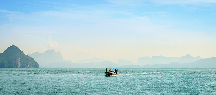 Morning Commute In Andaman Sea Photograph