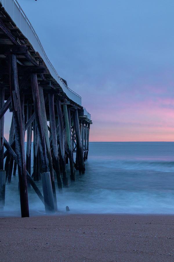 Morning In Belmar by Kristia Adams