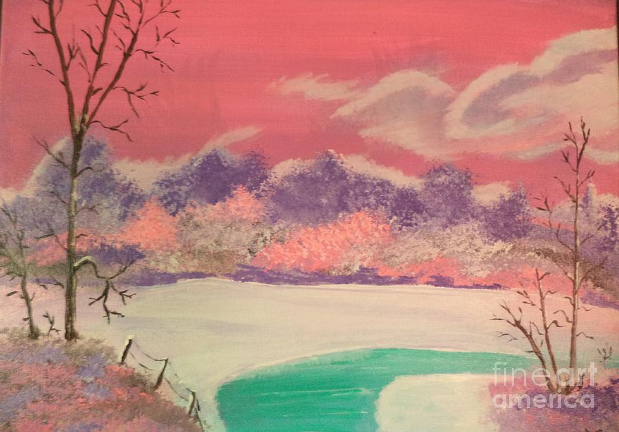 Morning In Pink by Donald Northup