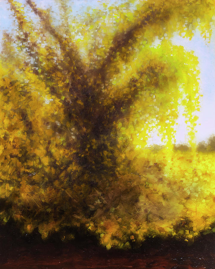 Morning In Texas - No. 6 Painting by Rob Blauser