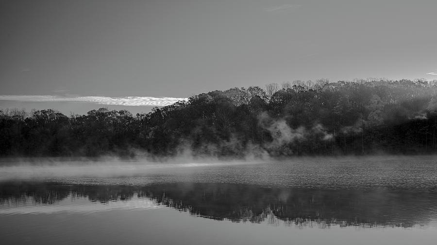 Morning Mist by Patrick M Lynch