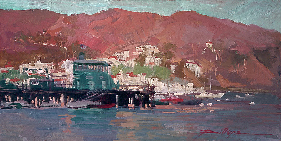 Catalina Island Painting - Morning Pleasures by Betty Jean Billups