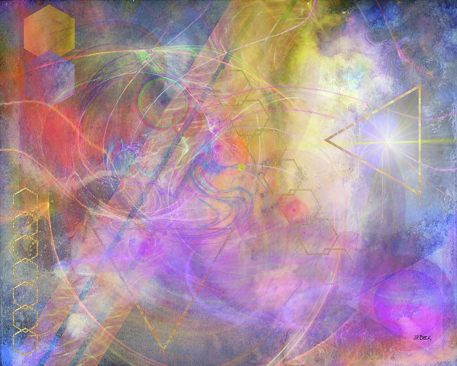 Morning Star Digital Art - Morning Star by John Robert Beck