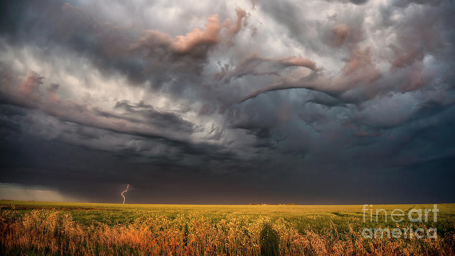 Canada Photograph - Morning Storm by Ian McGregor