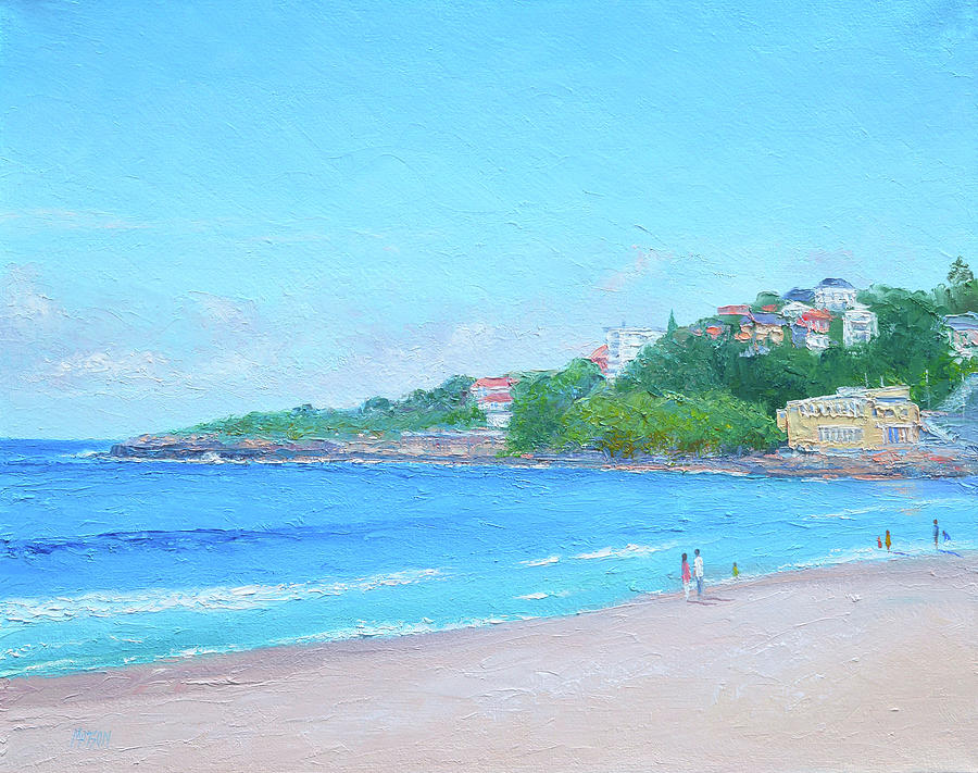 Morning Stroll Coogee Beach Painting