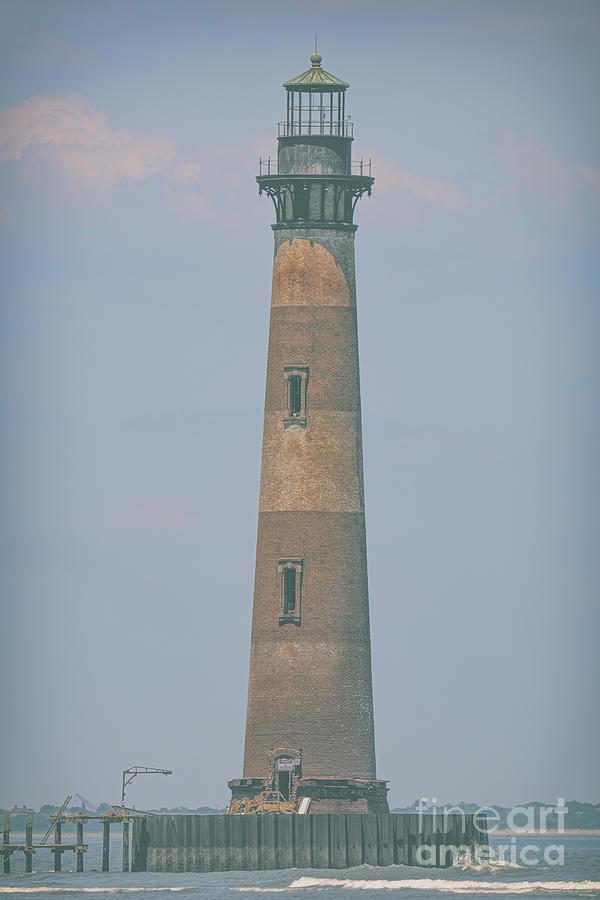 Morris Island Lighthouse - Charleston South Carolina - Maritime Protection Photograph