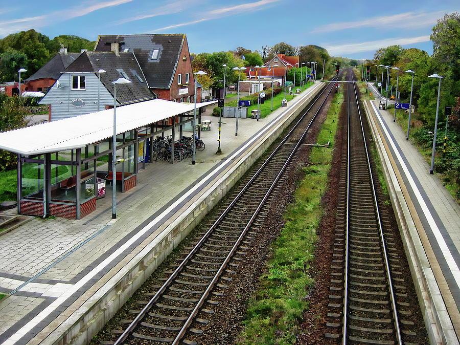 Morsum Train Station by Anthony Dezenzio