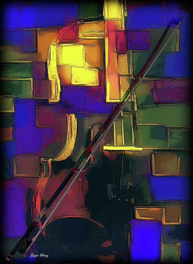 MOSAIC VIOLIN by G Berry