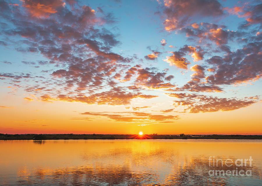 Mosquito Lagoon Sunset 1 Photograph