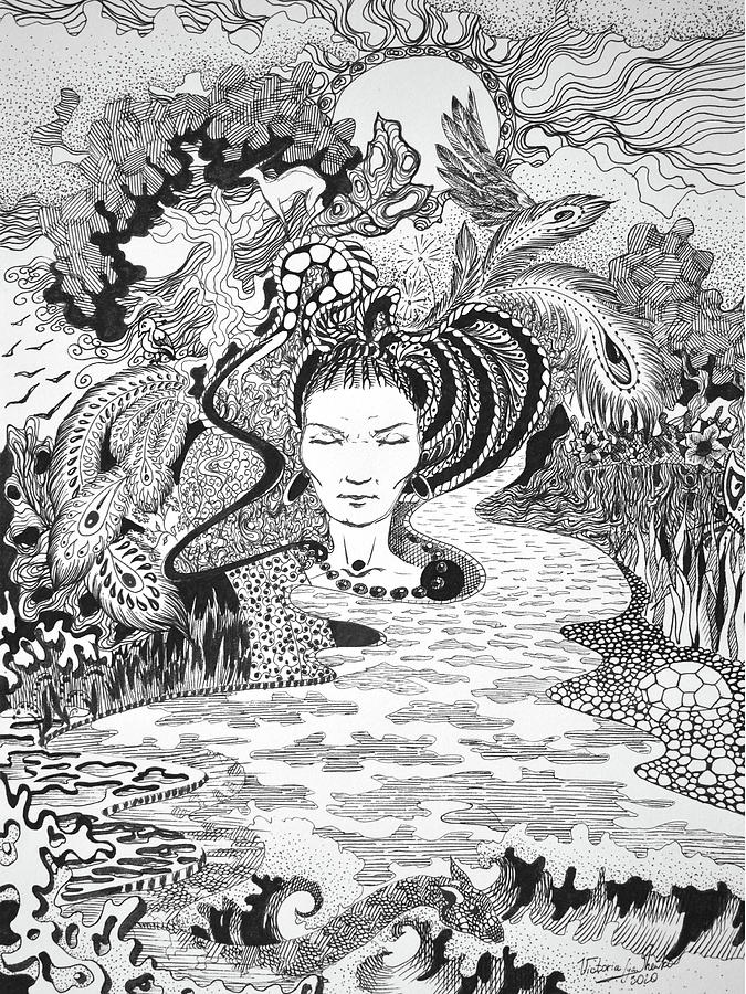 Mother Nature Drawing