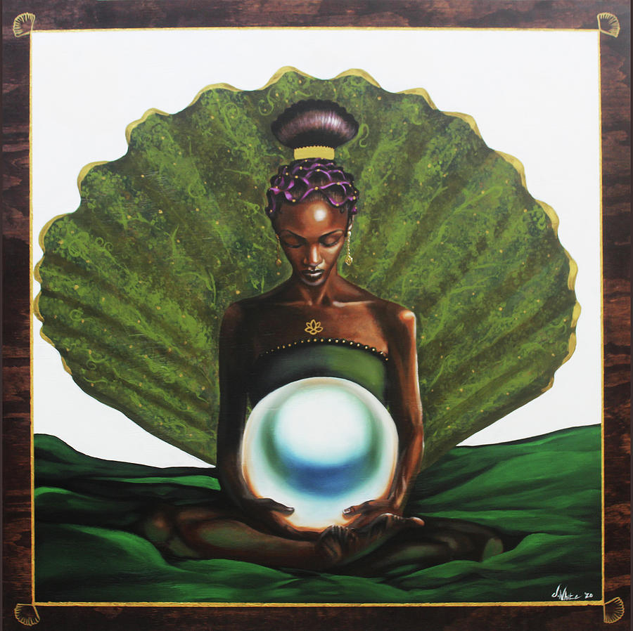 Mother Painting - Mother of Pearl by Jerome White