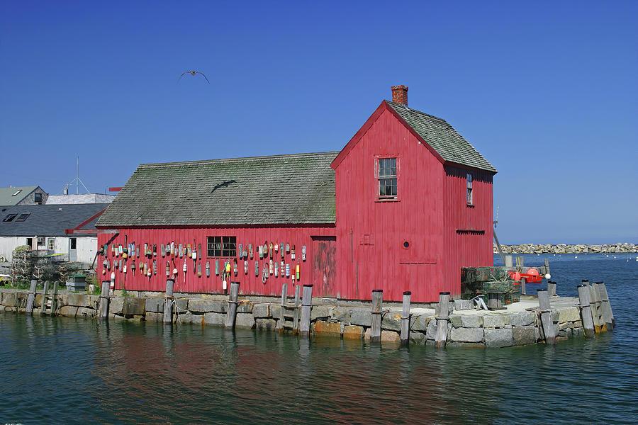Motif #1 on Rockports Bradley Wharf by Jeff Folger