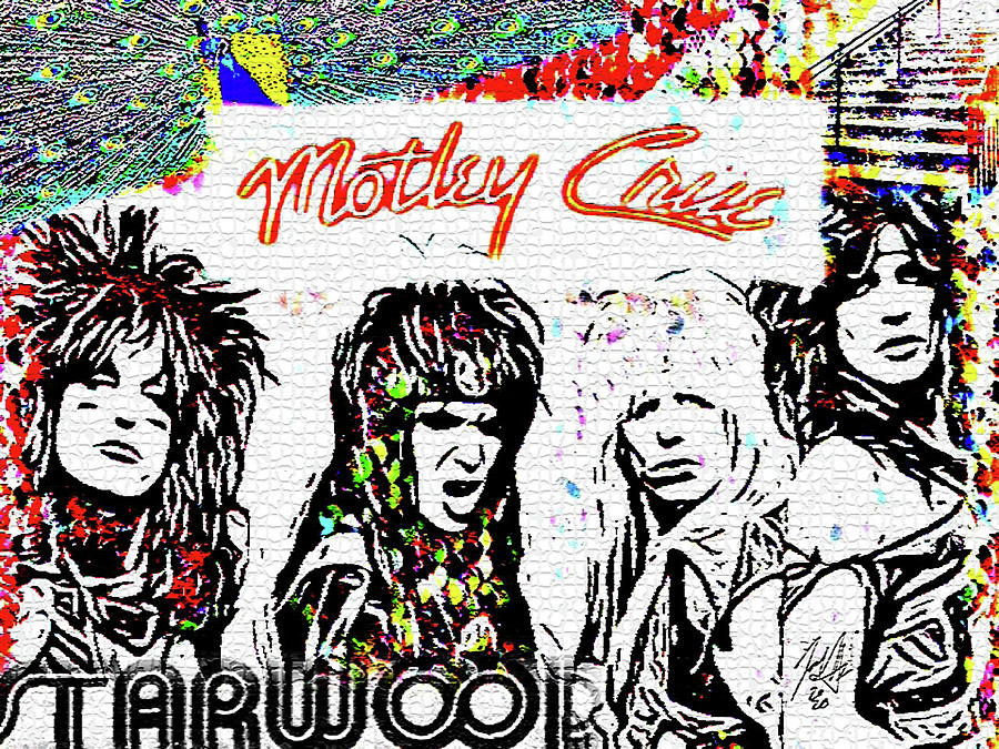 Motley Crue Inside your blue by Jayime Jean