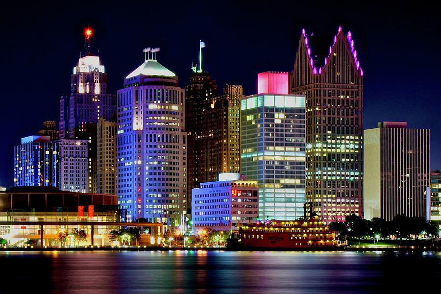 Motown Lights Photograph