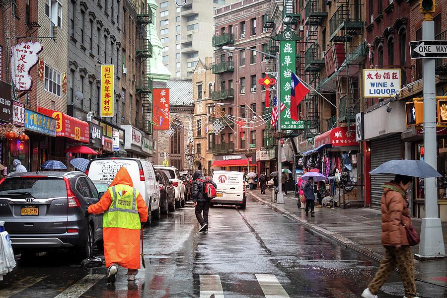 Mott Street by Alison Frank